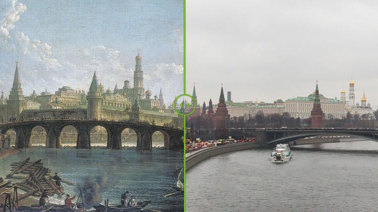 Con un ojo en el pasado y otro en el presente: Una mirada ampliada sobre la doble cara de Moscú