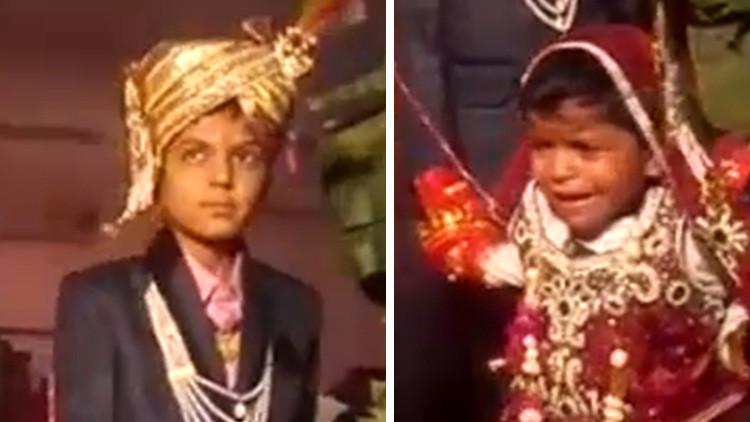 Video: Ni las lágrimas salvan a estas niñas de un casamiento forzado en la India