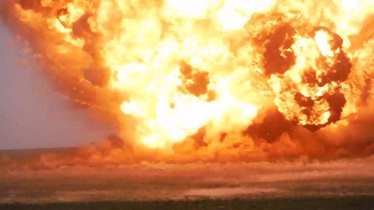 Militares rusos lanzan como prueba un misil balístico del sistema Iskander-M