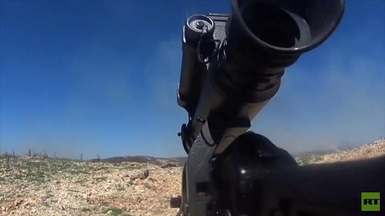 Video: El Ejército sirio graba una batalla con una GoPro