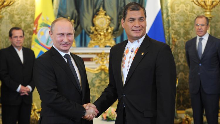 "Embajador ecuatoriano en Moscú: ""La llegada de Putin a Ecuador nos despierta gran interés"""