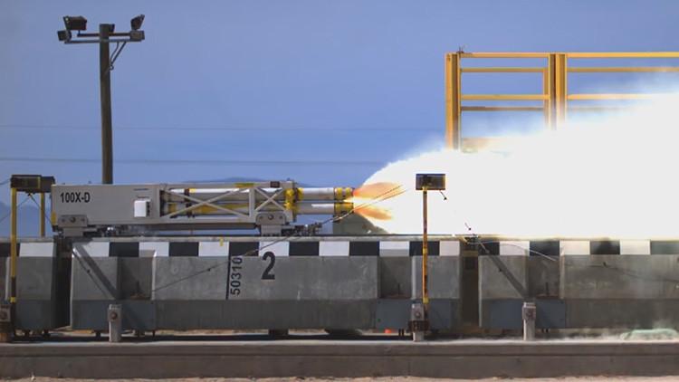 Video: La Fuerza Aérea de EE.UU. bate el récord mundial de velocidad en levitación magnética