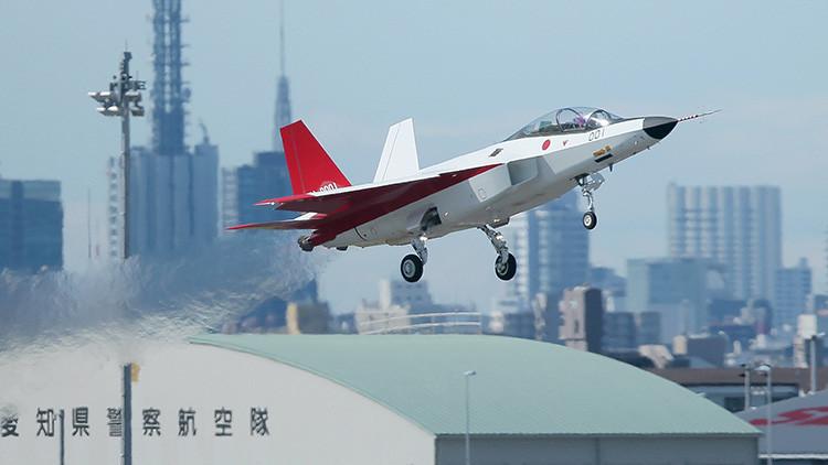 Video: Japón prueba su primer caza con tecnología furtiva