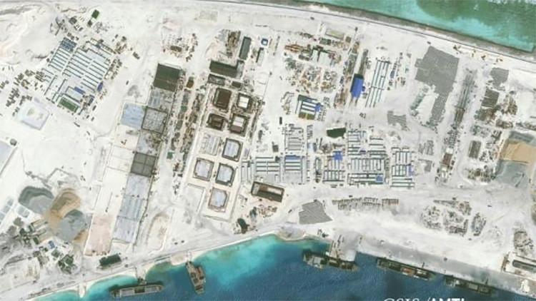 China podría construir plataformas nucleares en el mar de la China Meridional