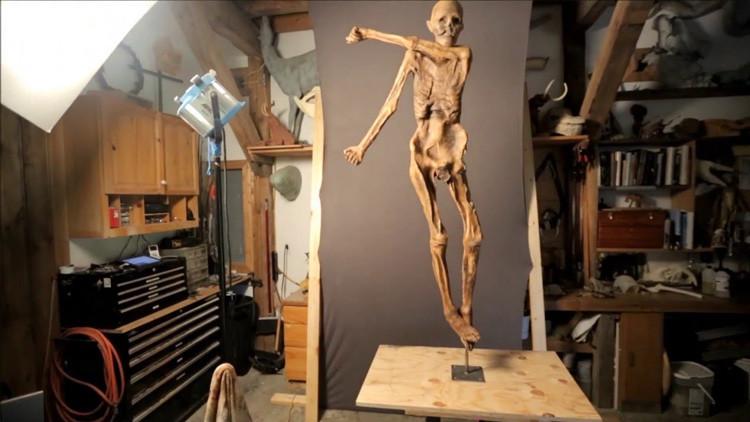 ¿Por fin podremos tenerle a pocos centímetros?: 'Reviven' al 'hombre de hielo' (VIDEO)