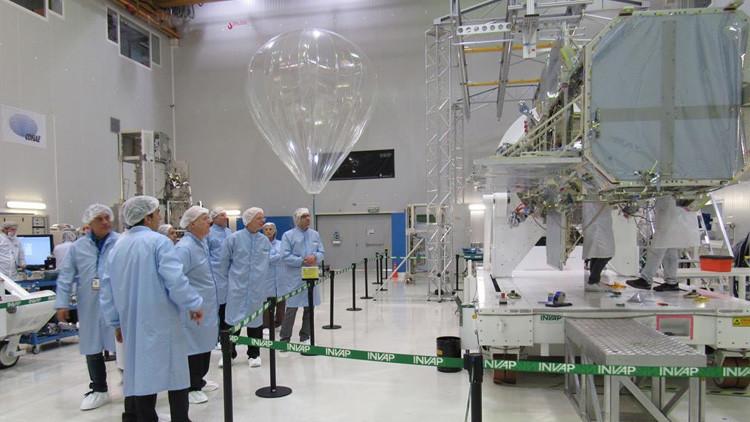 Un satélite científico argentino aprueba su último examen
