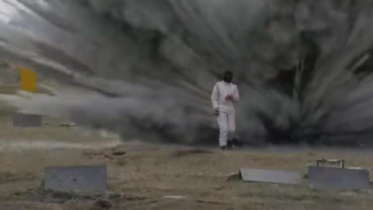 Video: Terminator no le llega a la suela de los talones a las soldados rusas
