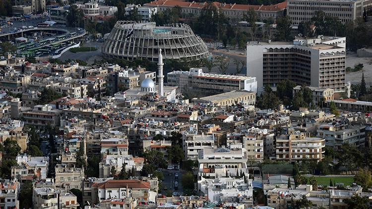 Damasco visto desde la montaña Kassion
