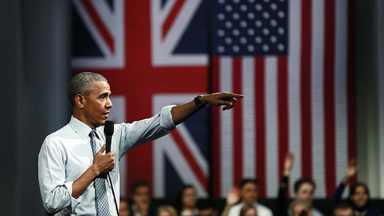 Los euroescépticos británicos acusan a Obama de injerencia por su campaña contra el Brexit