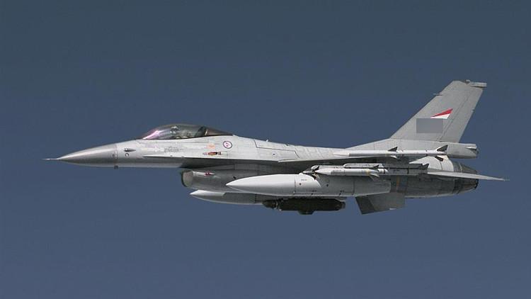 """""""Algo salió mal"""": Un F-16 noruego dispara por error contra una torre de control"""