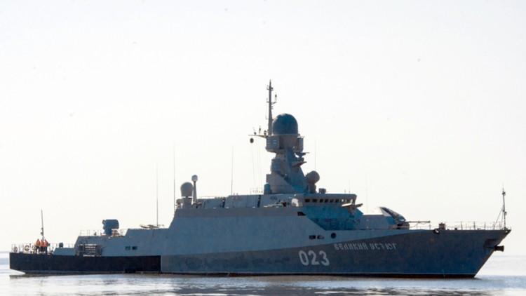 Buques de guerra rusos realizan prácticas con misiles Kalibr en el mar Caspio