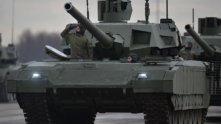 Rusia anuncia la entrada en servicio del primer centenar de los nuevos tanques Armata