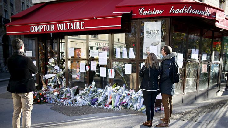 FUERTE VIDEO: Así fue el momento exacto de uno de los atentados de París