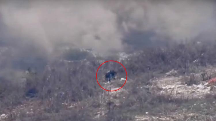 Filmado por un dron: el Ejército sirio aniquila unidades del Frente Al Nusra en Latakia
