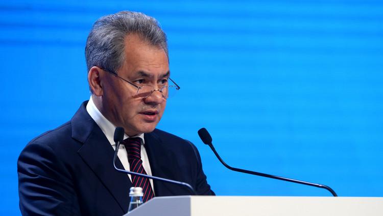 """Ministro de Defensa ruso: """"Algunos tratan de imponerse a los demás, aplicando su dominio militar"""""""