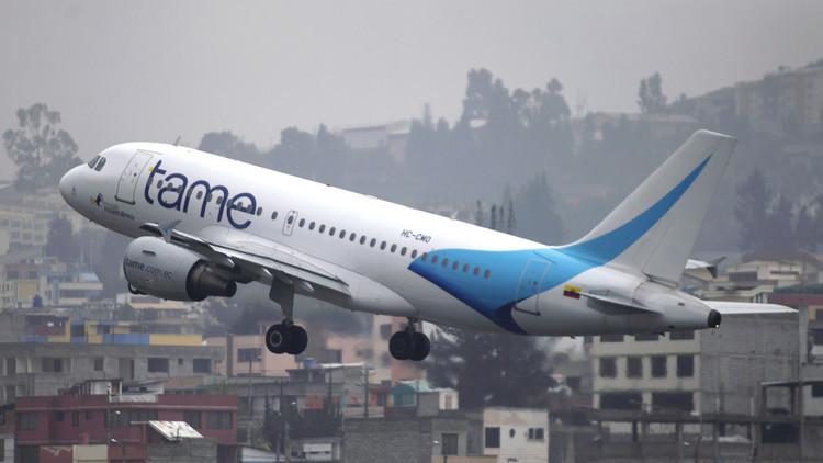 Principal aerolínea ecuatoriana TAME ha realizado más de 50 vuelos humanitarios tras los sismos