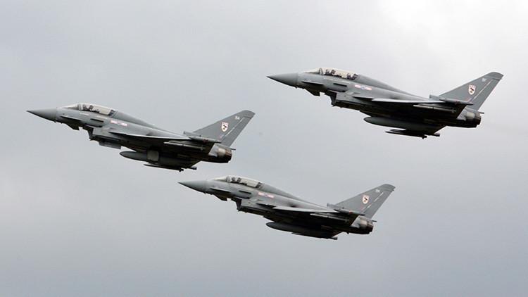 ¿Quién amenaza a quién? Aviones Typhoon británicos sobrevolarán una región fronteriza con Rusia
