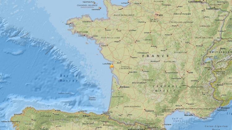 Un sismo de magnitud 4,6 sacude el oeste de Francia