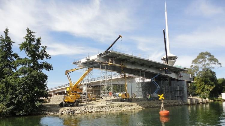"""""""Vergüenza internacional"""": Chile demolerá un puente por el error de una empresa española"""