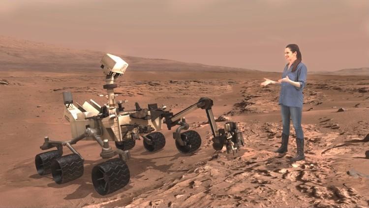 Llega la realidad aumentada: La NASA y Microsoft hacen posible visitar Marte