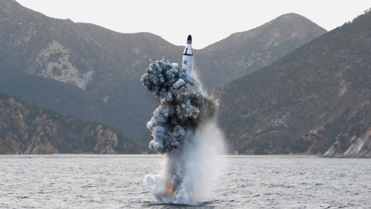 EE.UU. denuncia el lanzamiento de dos misiles balísticos norcoreanos