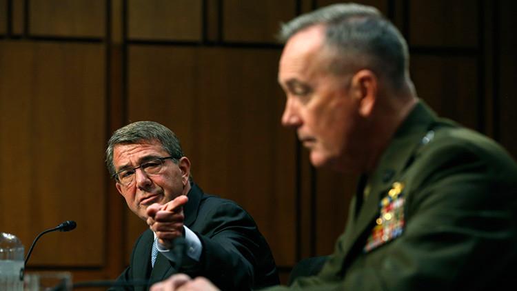 """""""La esperanza no es una estrategia"""": el jefe del Pentágono busca 'vender' al Senado su plan anti EI"""