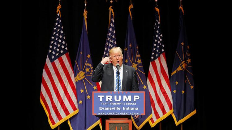 Trump dice que los famosos que no le quieren pueden irse de EE.UU.