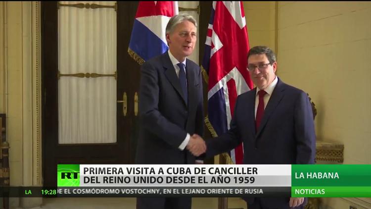 Reino Unido y Cuba firman memorandos para reforzar su cooperación