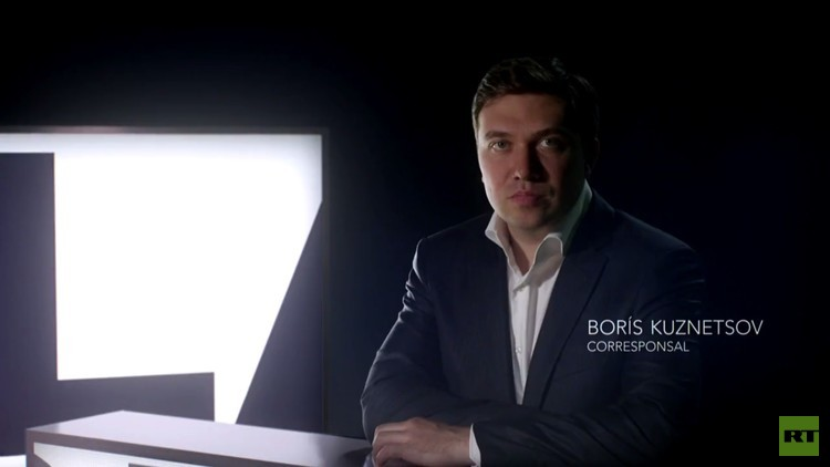 Borís Kuznetsov, corresponsal