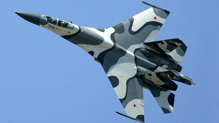 El Pentágono afirma que un Su-27 ruso maniobró a 6 metros de un avión de EE.UU.