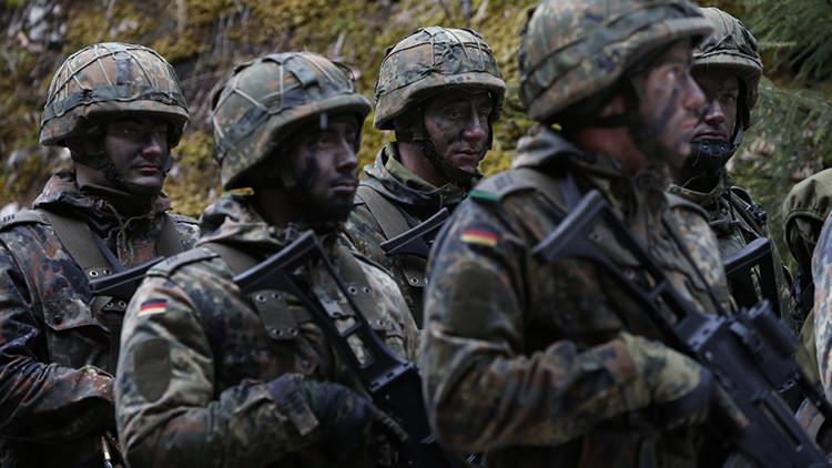 Alemania enviaría tropas de la OTAN a las fronteras de Rusia