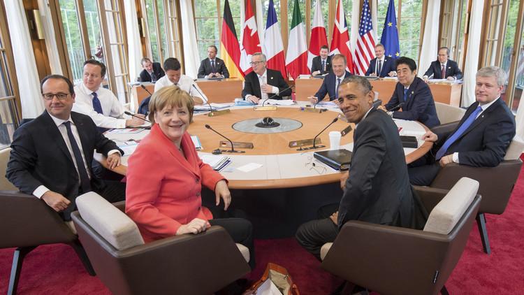 La reunión de los líderes de G7 en la ciudad de Kruen, Germany, 8 de junio de 2015.