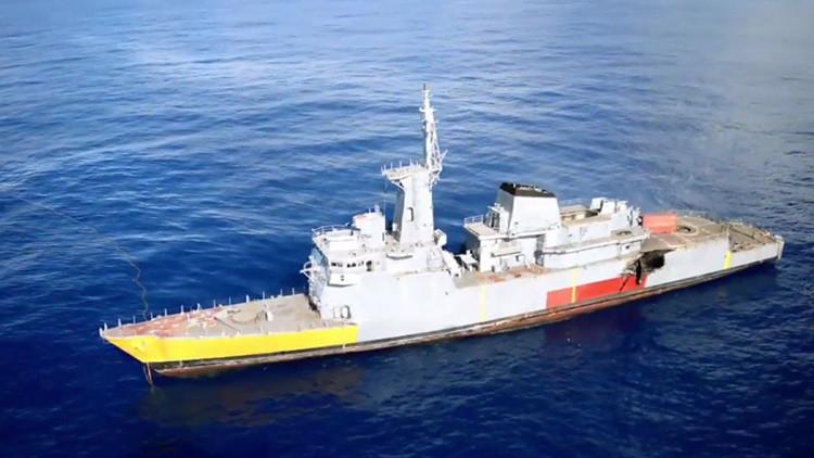 VIDEO: La Marina de Brasil prueba misiles Exocet y Penguim
