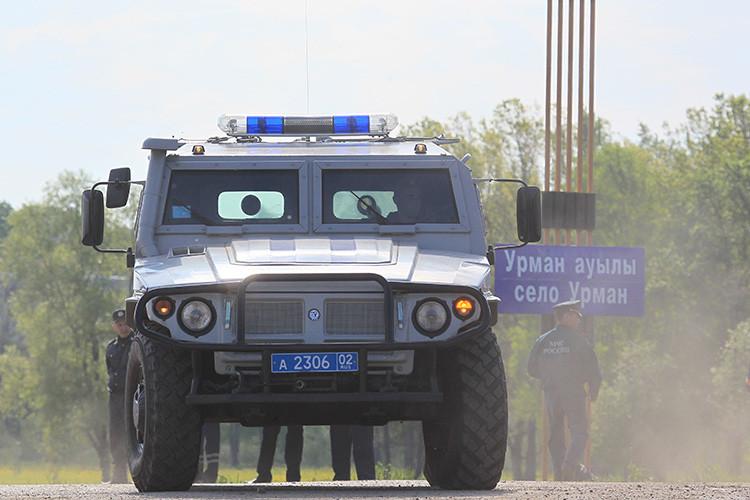 """Un """"Tigr-M"""" de la Policía de Rusia"""