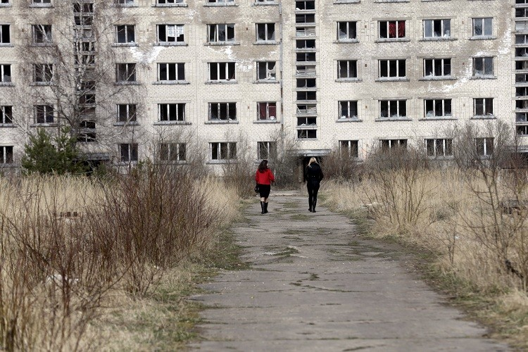 Las calles de la ciudad fantasma