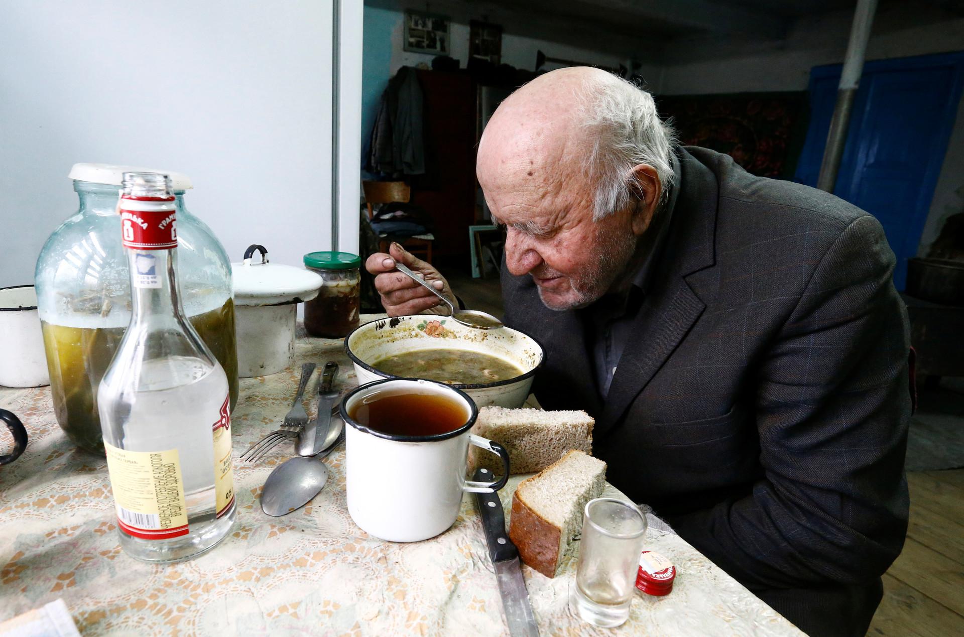 Iván Shamianok en su casa