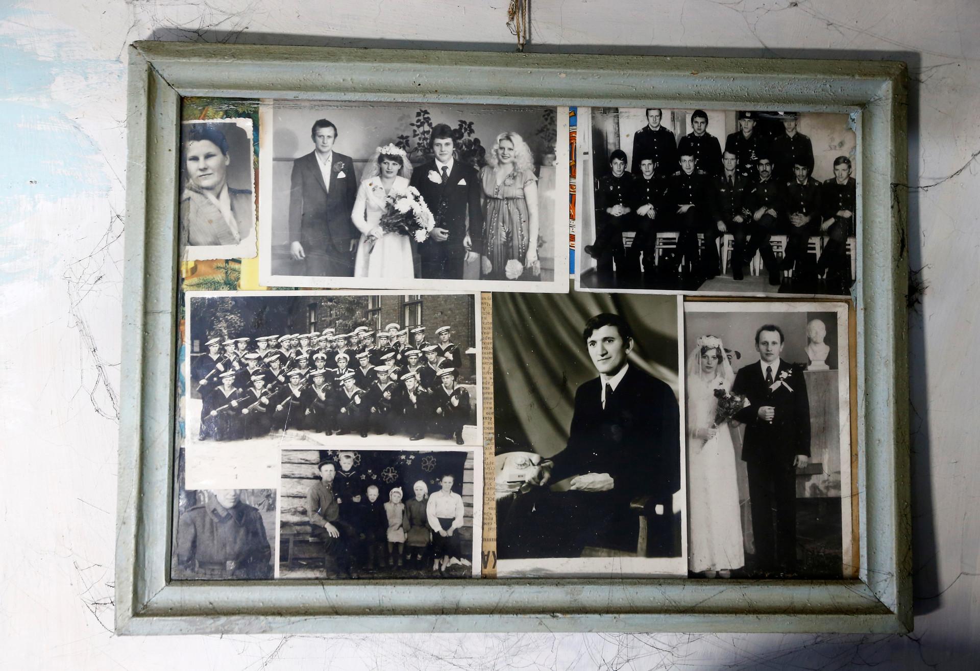 Las fotos familiares de Iván Shamianok