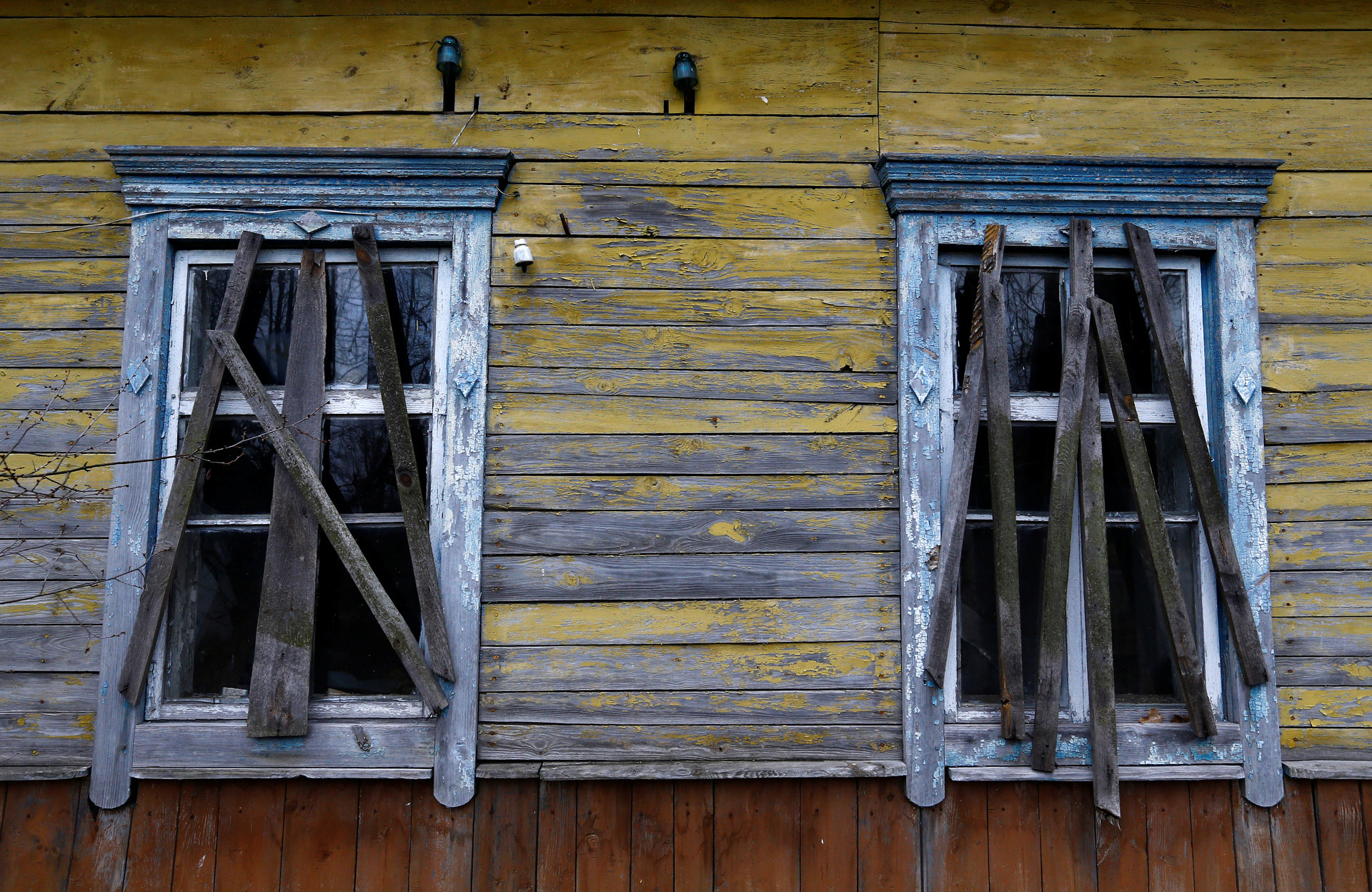 En Tulgovichi hay 300 casas para tres habitantes