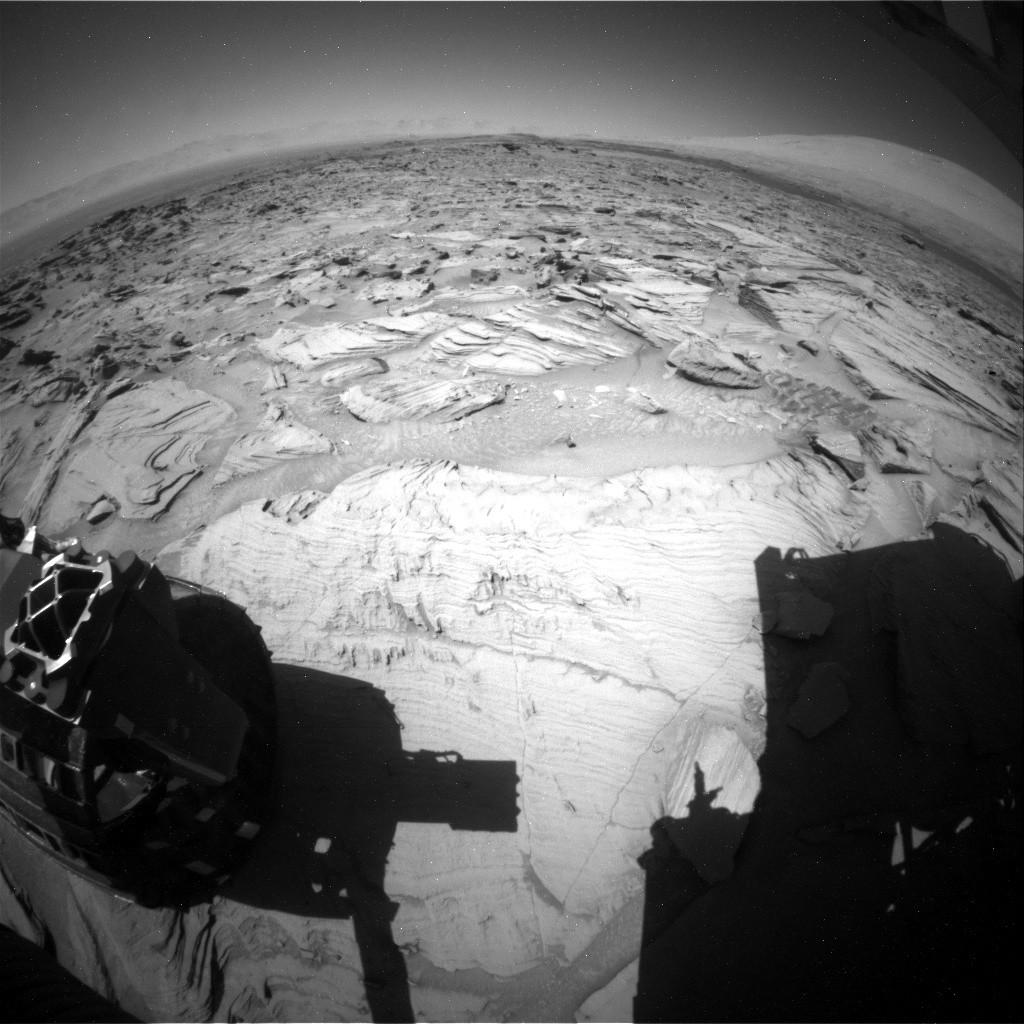 Un 'hombre que corre'aparece en una foto marciana de la NASA