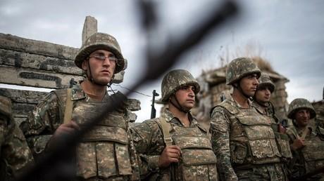 Los militares de Nagorno Karabaj