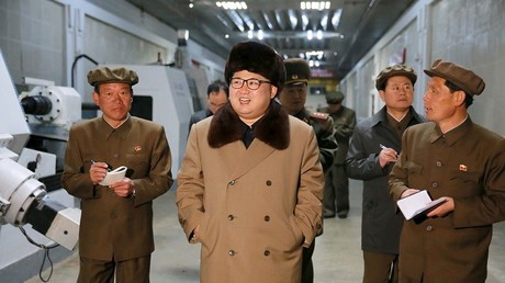 Líder de Corea del Norte, Kim Jong-un