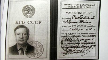 El documento otorgado a Kim Philby por sus méritos para la seguridad de la URSS