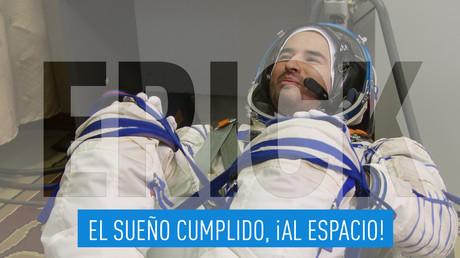La lista de Erick: El sueño cumplido, ¡al espacio!