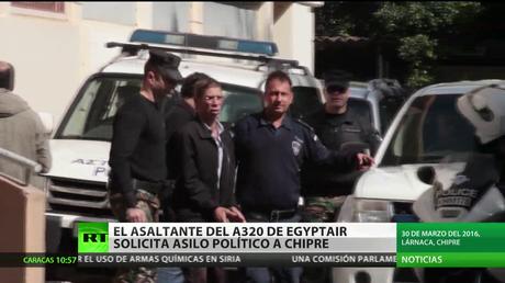 El asaltante de A320 de EgyptAir solicita asilo político a Chipre