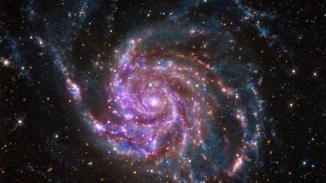 Galaxia espiral M101