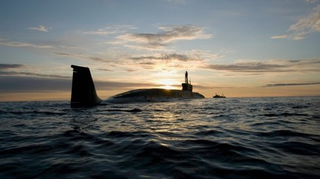 El submarino estratégico de propulsión nuclear Yuri Dolgoruki de la Armada rusa