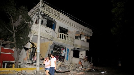 Las secuelas del terremoto en Guayaquil