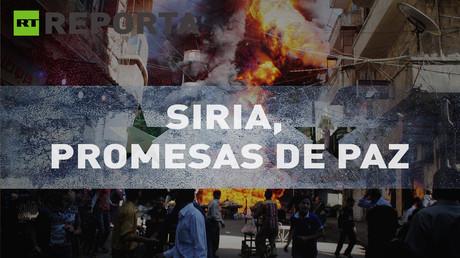 RT Reporta: Siria, promesas de paz (E37)