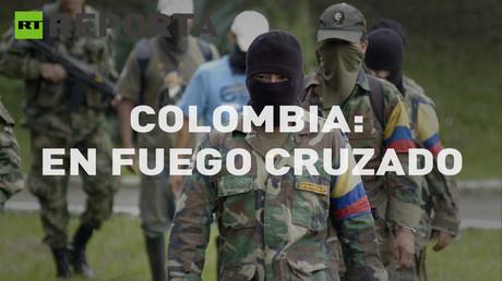 """Colombia en fuego cruzado: """"Aquí cada uno se defienda como puede"""""""