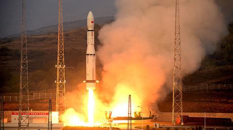 Cohete-portador chino 'Larga Marcha-6'